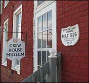 Crew House Museum, Richmond OH