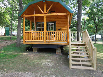 Vacation Rental In Oh At Austin Lake Rv Park And Cabins