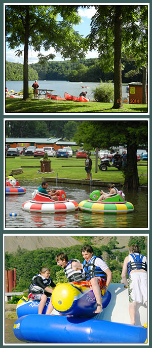 here's so much fun to be had at Austin Lake RV Park and Cabins in Southeast Ohio