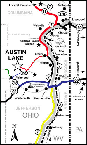 Find Austin Lake RV Park U0026 Cabins Near Pittsburgh!