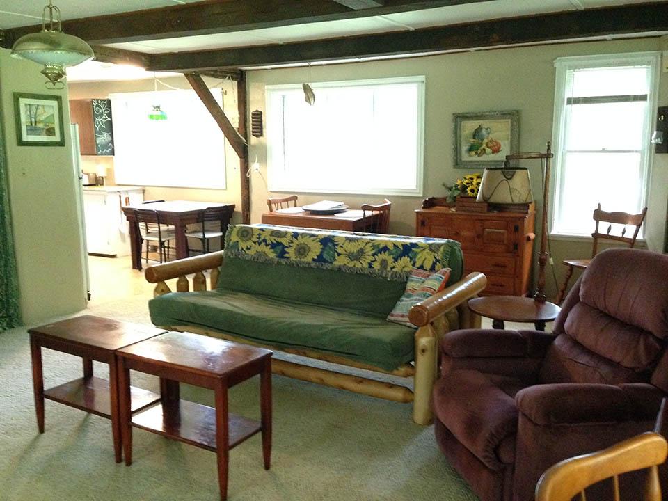 swan house living room
