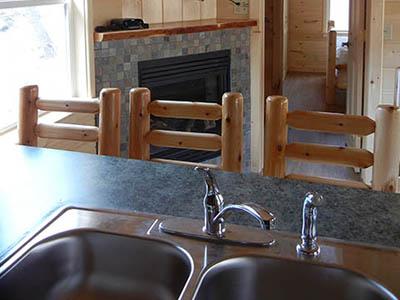 eagle cabin kitchen