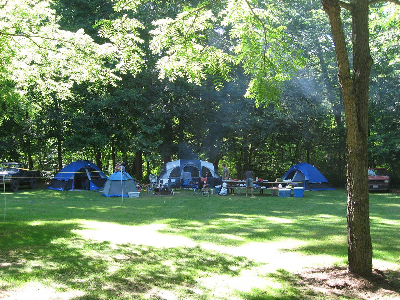 keyhole run tent sites